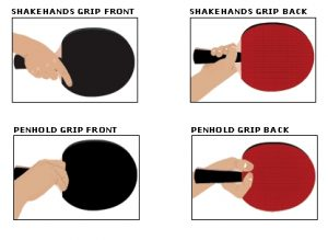 Details about  /Table Tennis Racket Shakehand Penhold Grip Ping Pong Training Profession Racquet