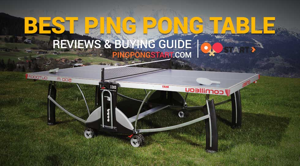 8 Best Ping Pong Table Reviews Amp Top Rated Ping Pong