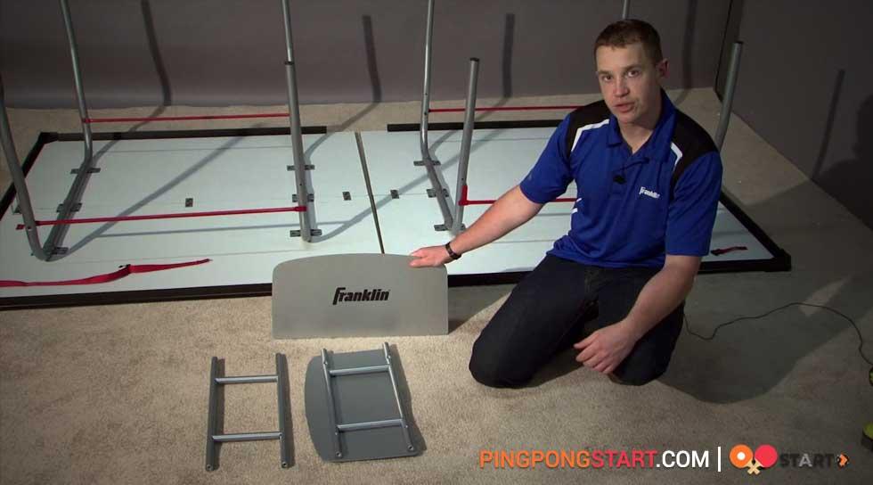 setup ping pong table