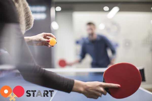 Set the table tennis