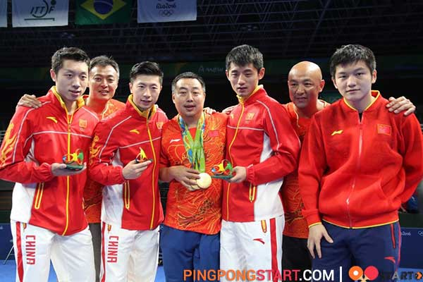 Ma Long's best achievements