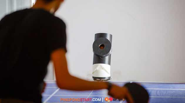 Practice ping pong robot front
