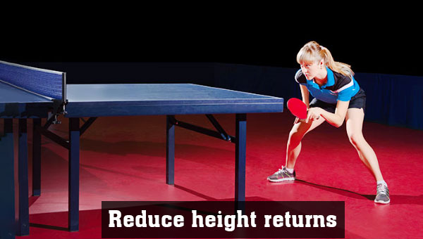 Reduce height returns