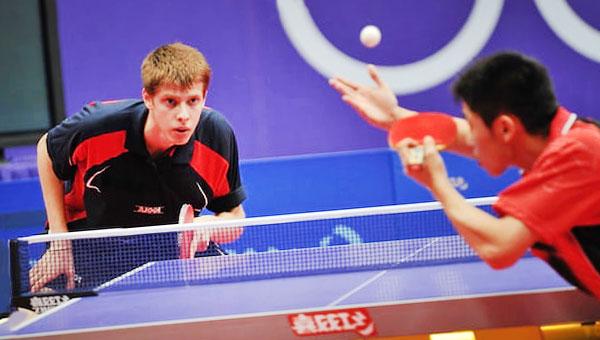 play ping pong