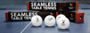 Xushaofa 40+ Seamless Poly Table Tennis Balls – 3 Star