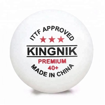 An approved ping-pong ball for professional competitions