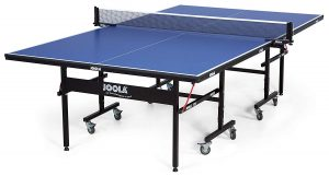 The official ping pong table which is approved by ITTF