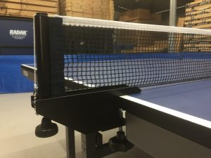 Claw and Screw ping pong table net