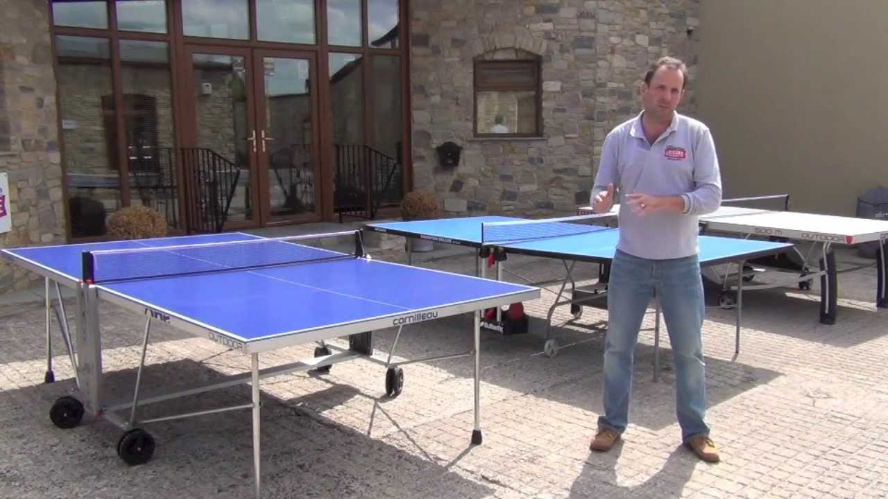 How much Space Needed for a Ping Pong Table?