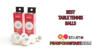 Best Table Tennis Balls