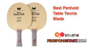 Best Penhold Table Tennis Blade