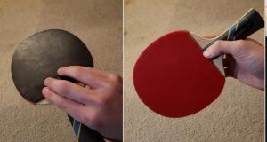 Penhold backhand grip
